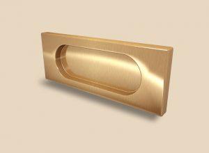 Ручка Золото глянец прямоугольная Италия Благовещенск