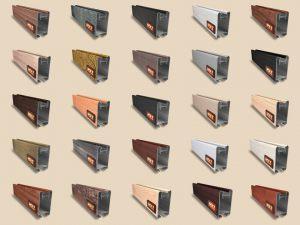 """Алюминиевый ламинированный профиль """"HOLZ"""" для шкафов купе и межкомнатных перегородок Более 100 цветов Благовещенск"""