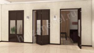 Двери гармошка Благовещенск