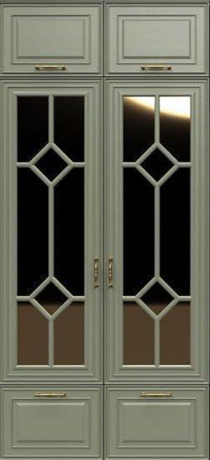 Фасад с фигурной филенкой эмаль Благовещенск