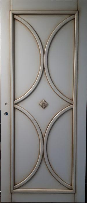 Вставка с фигурной филенкой (эмаль с патиной) Благовещенск
