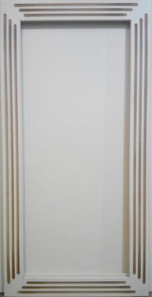 Рамочный фасад с фрезеровкой 2 категории сложности Благовещенск