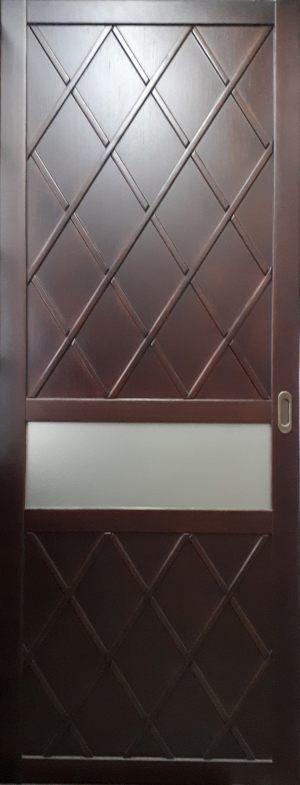 Вставка в дверь с фигурной филенкой Благовещенск